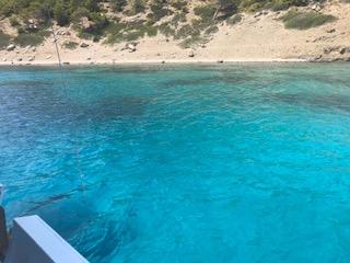 water bij de boottour